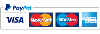 Payment methods. We accept PayPal, Credit and Debit Cards.